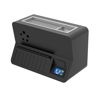 R8W coin sorter and wrapper
