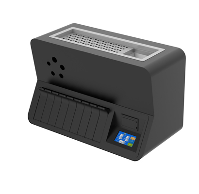 3 R8W coin sorter and wrapper